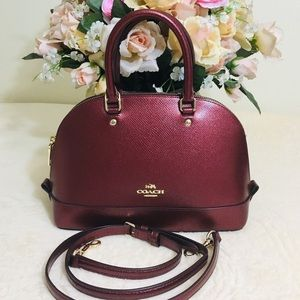 ✅ Coach Mini Sierra Satchel - Rare color